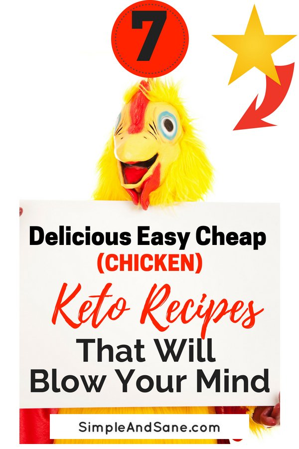 Delicious easy Keto chicken breasts recipes to make losing weight on your Ketogenic Diet even easier!