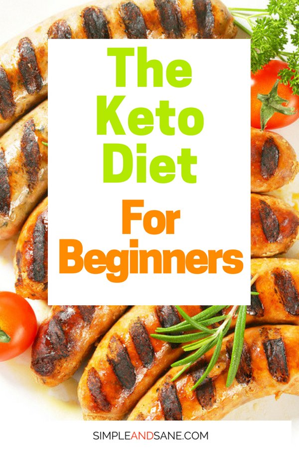Learn how the Keto Diet for Beginners can set you on a path to lose weight and stay in ketosis on the Ketogenic Diet. It's not as hard as you think!