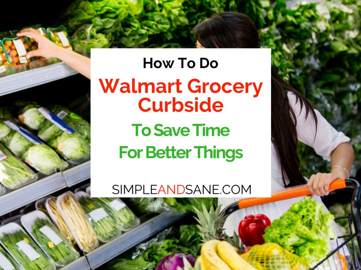 Use Walmart Grocery Curbside to save time and money! If you don't go in the store you are less likely to impulse buy junk food. Very helpful on a Ketogenic (Keto) Diet!