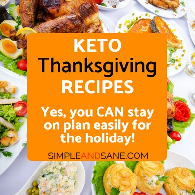 Delicious Keto Thanksgiving – All Feast and No Guilt!