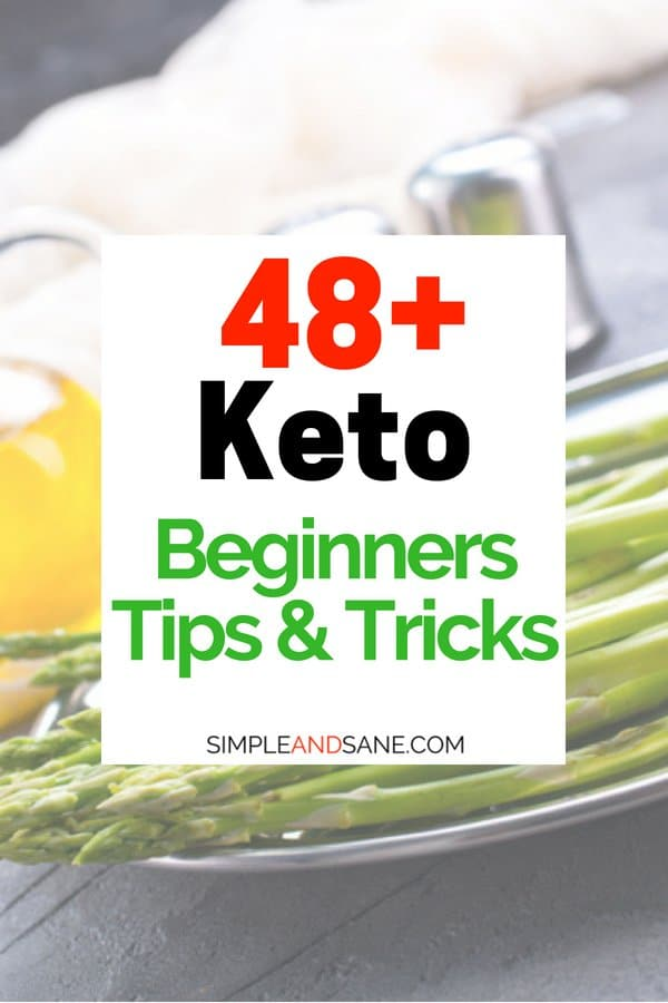 Learn all the little keto tips and tricks that will keep you losing weight and staying in ketosis on the ketogenic diet.
