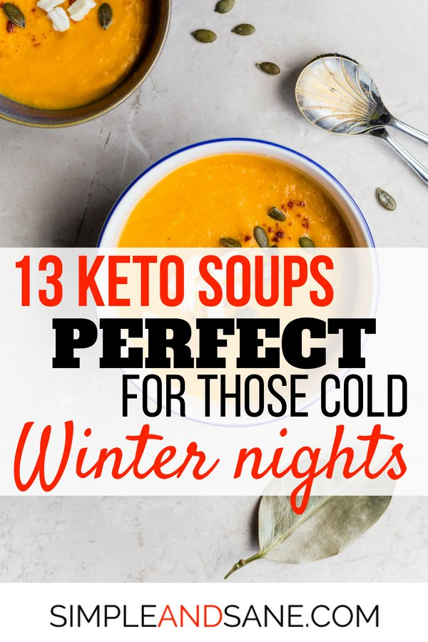 Keto Soups for fall and winter Pin 3